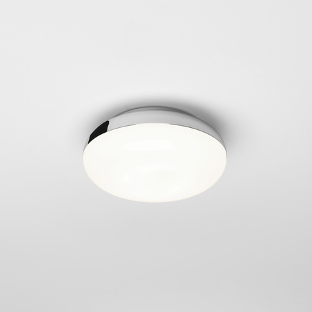 Потолочный светодиодный светильник Astro Altea LED 1133004 (8013), IP44, LED 8,18W 2700K 415lm CRI80, хром, белый, металл, пластик