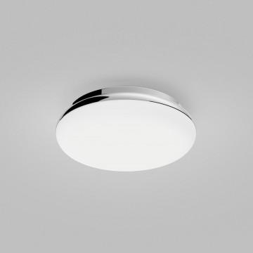 Потолочный светодиодный светильник Astro Altea 1133007 (8047), IP44, LED 15,6W 2700K 673lm CRI>80, хром, белый, металл, стекло - миниатюра 3