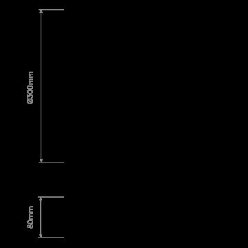 Схема с размерами Astro 1133007