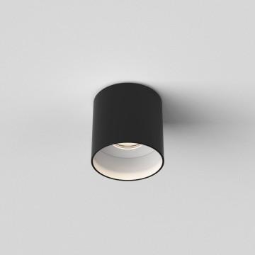 Потолочный светодиодный светильник Astro Osca 1252023 (7997), LED 7,7W 2700K 528.18lm CRI80, черный, черно-белый, металл