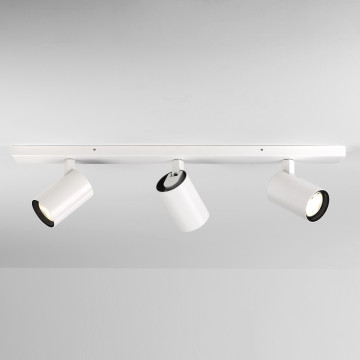 Потолочный светильник с регулировкой направления света Astro Aqua 1393003 (6154), IP44, 3xGU10x6W, белый, металл, стекло