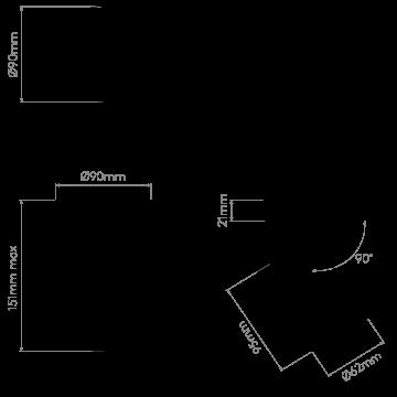 Схема с размерами Astro 1393004