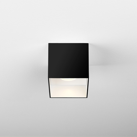 Потолочный светодиодный светильник Astro Osca 1252025 (7999), LED 7,8W 2700K 506.52lm CRI80, черный, черно-белый, металл
