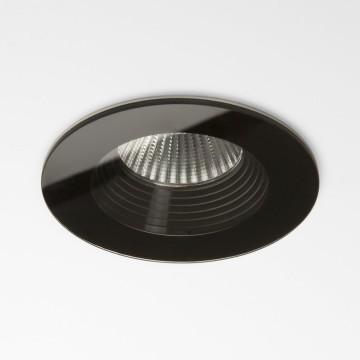 Встраиваемый светодиодный светильник Astro Vetro 1254016 (5754), IP65, LED 6W 3000K 629.3lm CRI80, черный, стекло