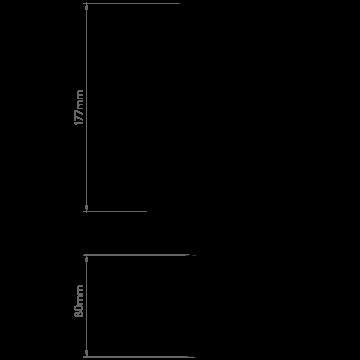 Схема с размерами Astro 1392002