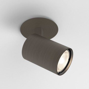 Встраиваемый светильник с регулировкой направления света Astro Ascoli 1286022 (6150), 1xGU10x50W, бронза, металл
