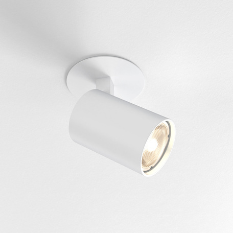 Встраиваемый светильник с регулировкой направления света Astro Ascoli 1286021 (6149), 1xGU10x50W, белый, металл
