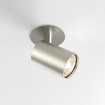 Встраиваемый светильник с регулировкой направления света Astro Ascoli 1286023 (6151), 1xGU10x50W, никель, металл