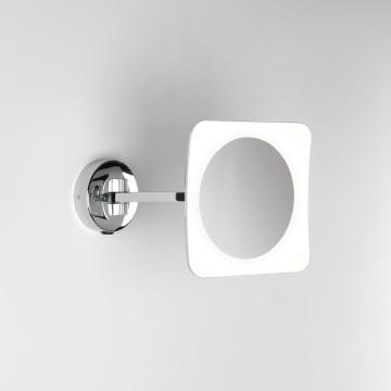 Косметическое зеркало со светодиодной подсветкой и увеличением Astro Mascali 1373003 (7968), IP44, LED 6,1W 2700K (теплый) 152,6lm