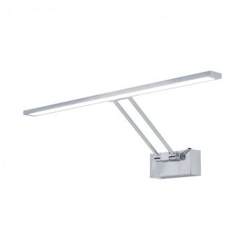 Настенный светодиодный светильник для подсветки картин Citilux Визор CL708501, LED 12W 3600K 900lm, хром, металл - миниатюра 1