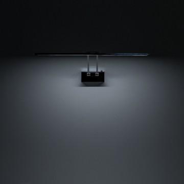 Настенный светодиодный светильник для подсветки картин Citilux Визор CL708501, LED 12W 3600K 900lm, хром, металл - миниатюра 6