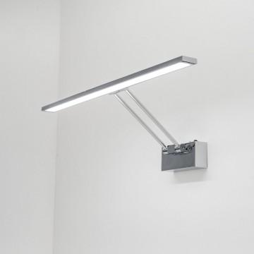 Настенный светодиодный светильник для подсветки картин Citilux Визор CL708501, LED 12W 3600K 900lm, хром, металл - миниатюра 7