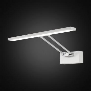 Настенный светодиодный светильник для подсветки картин Citilux Визор CL708350, LED 8W 3600K 975lm, белый, хром, металл - миниатюра 2