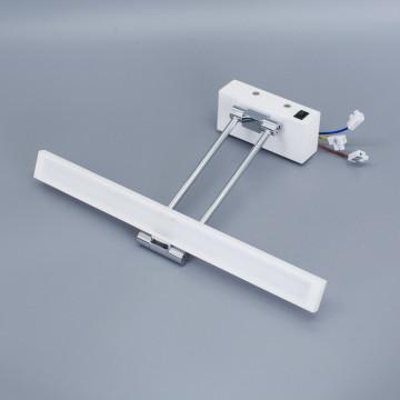 Настенный светодиодный светильник для подсветки картин Citilux Визор CL708350, LED 8W 3600K 975lm, белый, хром, металл - миниатюра 4