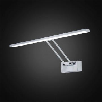 Настенный светодиодный светильник для подсветки картин Citilux Визор CL708501, LED 12W 3600K 900lm, хром, металл - миниатюра 2