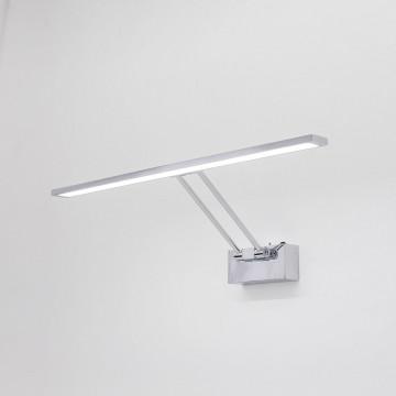 Настенный светодиодный светильник для подсветки картин Citilux Визор CL708501, LED 12W 3600K 900lm, хром, металл - миниатюра 3