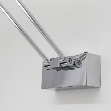 Настенный светодиодный светильник для подсветки картин Citilux Визор CL708501, LED 12W 3600K 900lm, хром, металл - миниатюра 4