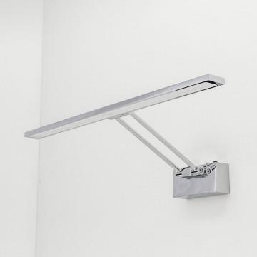 Настенный светодиодный светильник для подсветки картин Citilux Визор CL708501, LED 12W 3600K 900lm, хром, металл - миниатюра 5