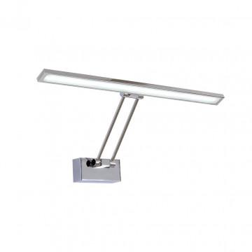 Настенный светодиодный светильник для подсветки картин Citilux Визор CL708501, LED 12W 3600K 900lm, хром, металл - миниатюра 8