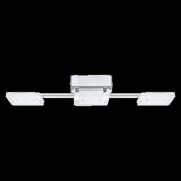 Потолочный светодиодный светильник Eglo Cartama 94155, хром, белый, прозрачный, металл, пластик