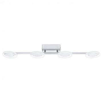 Потолочный светодиодный светильник Eglo Cartama 94159, хром, белый, прозрачный, металл, пластик - миниатюра 1