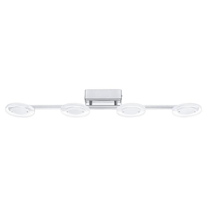 Потолочный светодиодный светильник Eglo Cartama 94159, хром, белый, прозрачный, металл, пластик - фото 1