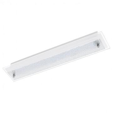 Потолочный светодиодный светильник Eglo Priola 94451, LED 9W, белый, прозрачный, металл, стекло