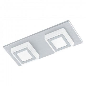 Потолочный светодиодный светильник Eglo Masiano 94506, LED 6,6W 3000K 680lm, алюминий, металл, пластик