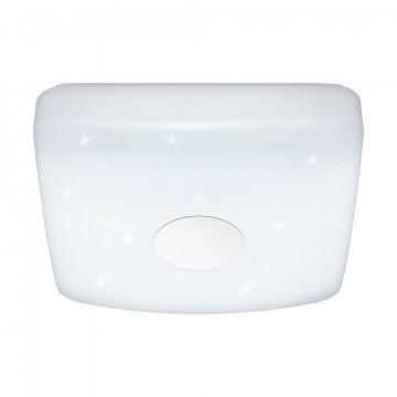 Потолочный светодиодный светильник с пультом ДУ Eglo Voltago 2 95974, LED 14W 1800lm CRI>80, белый, металл, пластик