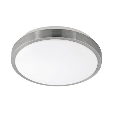 Потолочный светодиодный светильник Eglo Competa 1 96032, LED 22W 3000K 2400lm CRI>80, никель, металл, пластик