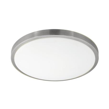 Потолочный светодиодный светильник Eglo Competa 1 96034, LED 24W 3000K 2500lm CRI>80, никель, металл, пластик