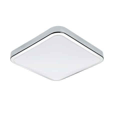 Потолочный светодиодный светильник Eglo Manilva 1 96229, IP44, LED 16W 3000K 1500lm, хром, металл, металл с пластиком, пластик
