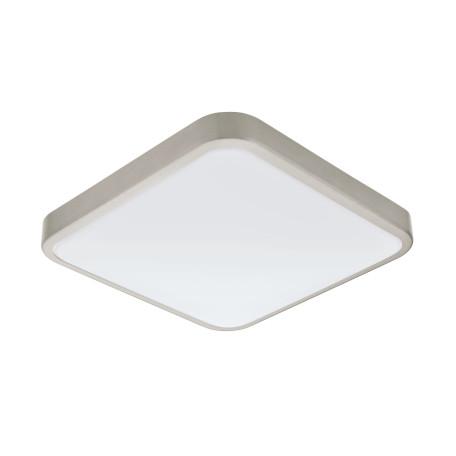 Потолочный светодиодный светильник Eglo Manilva 1 96231, IP44, LED 16W 3000K 1500lm, никель, металл, металл с пластиком, пластик
