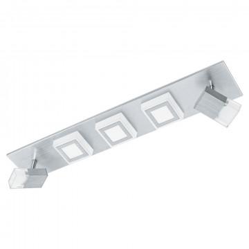 Потолочный светодиодный светильник с регулировкой направления света Eglo Masiano 94511, LED 20,7W 3000K 2040lm, алюминий, металл, пластик
