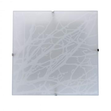 Потолочный светодиодный светильник MW-Light Васто 368011501, LED 12W 3000K (теплый), белый, металл, стекло