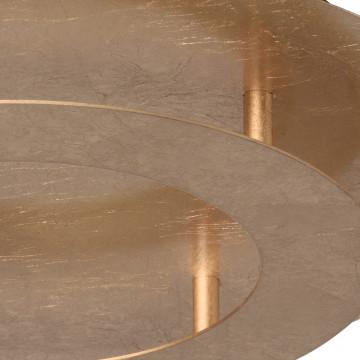 Потолочный светодиодный светильник De Markt Галатея 452011701, LED 18W, 3000K (теплый), матовое золото, металл - миниатюра 7