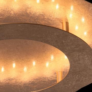Потолочный светодиодный светильник De Markt Галатея 452011701, LED 18W, 3000K (теплый), матовое золото, металл - миниатюра 8