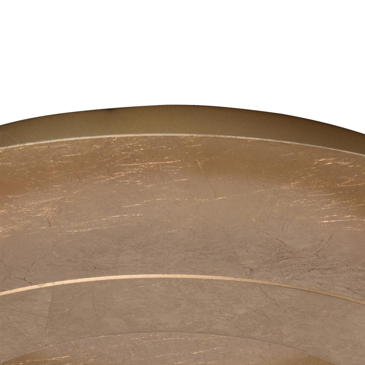 Потолочный светодиодный светильник De Markt Галатея 452011701, LED 18W, 3000K (теплый), матовое золото, металл - фото 9