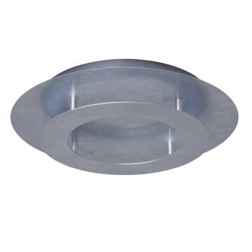 Потолочный светодиодный светильник De Markt Галатея 452011801, LED 18W 3000K 1008lm, серебро, металл