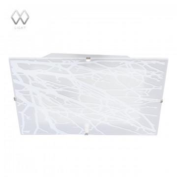 Потолочный светильник MW-Light Васто 368010702, 2xE14x60W, белый, металл, стекло