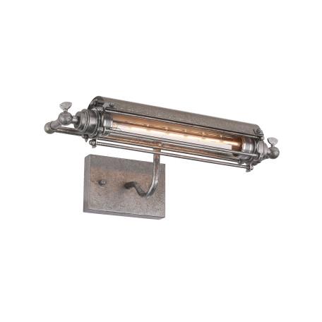 Настенный светильник для подсветки картин ST Luce Peferro SL382.401.01, 1xE27x6W, серый, металл