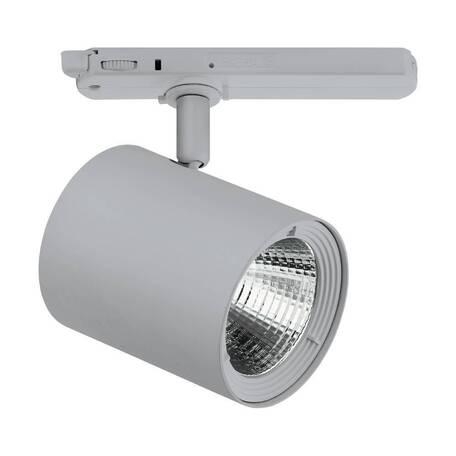 Светодиодный светильник Eglo Egnatia 66323, LED 35,9W 3000K 3192lm CRI90, серый, металл