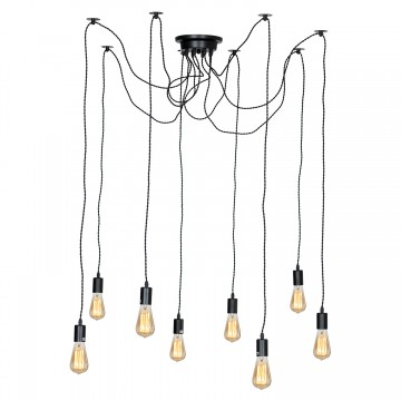 Люстра-паук ST Luce Ragno SLD983.403.09, 9xE27x60W