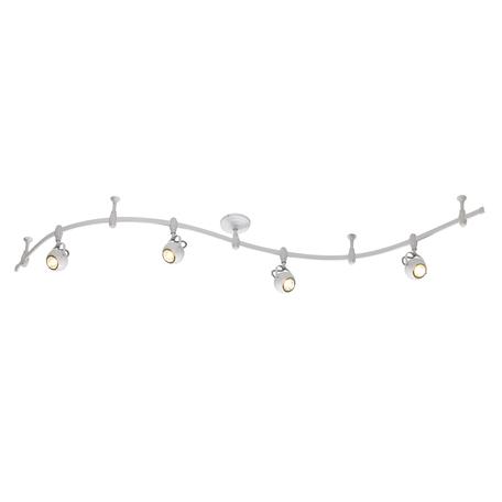 Гибкая система освещения Odeon Light Pulla 3804/4TR, 4xGU10x50W, белый, металл
