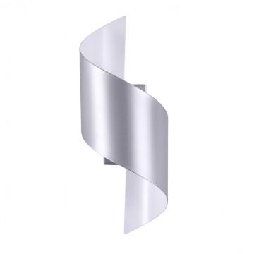 Настенный светодиодный светильник Odeon Light Boccolo 3800/5WL 3000K (теплый), серебро, металл