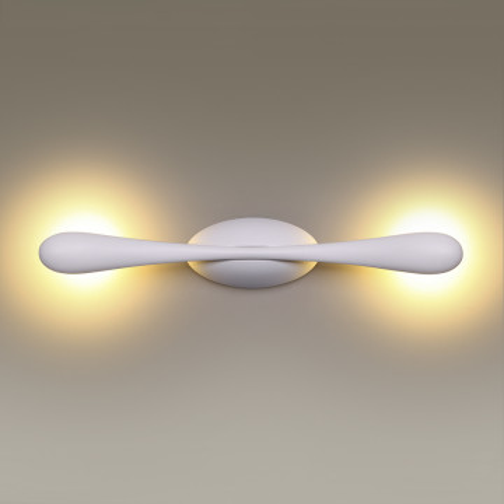 Настенный светодиодный светильник Odeon Light Bato 3808/6WL, LED 6W, 3200K (дневной), белый, металл