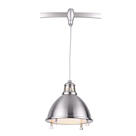 Подвесной светильник для гибкой системы Odeon Light Breta 3807/1A, 1xE27x60W, никель, металл