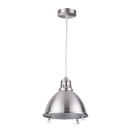 Подвесной светильник Odeon Light Breta 3807/1L, 1xE27x60W, никель, металл
