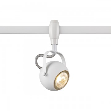 Светильник для гибкой системы Odeon Light Pulla 3804/1, 1xGU10x50W, белый, металл