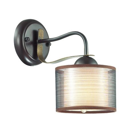 Бра Lumion County Lilivant 3487/1W, 1xE14x40W, коричневый, металл, текстиль